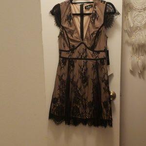 Lulu lace cocktail dress